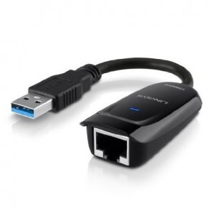 Linksys USB 3.0 Ethernet Adapter, Works with MacBook Air, Chromebook, or Ultrabook (USB3GIG)