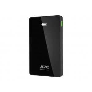 APC Dual USB Slim Portable Power Pack for Phones and Tablets - 10,000 mAh