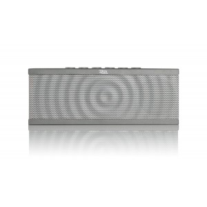 Liztek PSS-100 Portable Wireless Bluetooth Speaker with Built in Speakerphone, 8 Hour Rechargeable Battery (Grey)
