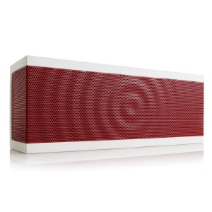 BÖHM BÖHM SoundBlock Wireless Bluetooth 3.0 Stereo Speaker with Built-in Rechargeable Battery - White/R