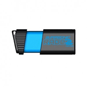 Patriot 128GB Supersonic Rage 2 Series USB 3.0 Flash Drive with Up To 400MB/sec Read, 200MB/s Write (PEF128GSR2USB)