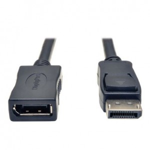 TRIPP LITE P579-006 Display Port Extension Cable with Latches Video Audio HDCP M/F 6-Feet