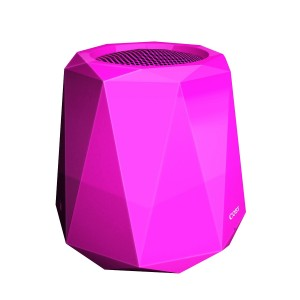 Coby Edge Portable Wireless Bluetooth Speaker (Pink)
