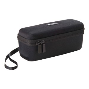 Caseling Hard Case for Photive HYDRA Waterproof Wireless Portable Bluetooth Speakers. - Mesh Pocket for Cables.