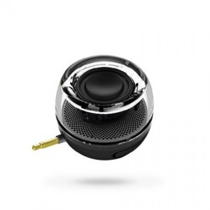 Leadsound Gadget.Cool Smartphone 3.5mm Aux Audio Jack Plug in Line-in Speaker Mini Compact Round Shape Power