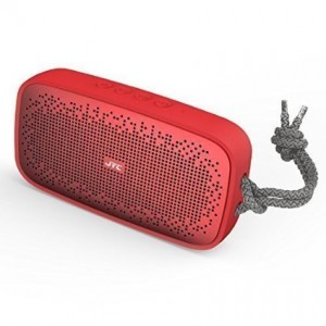 JYCstar LKS1 Portable Wireless Bluetooth Speaker;IPX7 Waterproof Rating;Hand Free Phone Audio,8 hours playing time;iPhone,iPad,Samsung,Andriod Smartphone,Tablet and More Devices Compatible(Red)