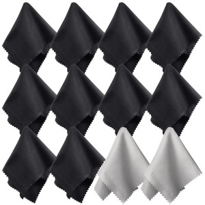 Charm & Magic (12 Pack) Charm and Magic Microfiber Cleaning Cloths for All Type of Screens (12)