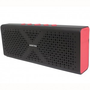 [2016 New]Ultra-Portable Aluminum Bluetooth Speaker AidetekBoxBluetooth 4.0 Wireless speaker with 15 Hours Music StreamingandHands-Free Calling Built-in Mic, 10W Output Power with Enhanced Bass.