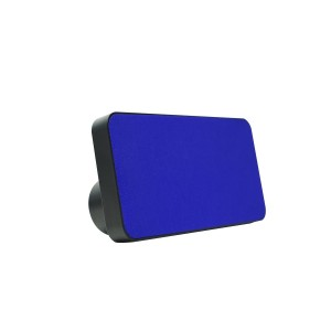 Polaroid Bluetooth Wireless Slim Stereo Speaker, Reachable and Portable (Blue)