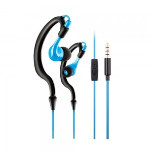 Kimmer KIMMAR Handfree Exercise/Running/Sports and Gym Headset Sweat Resistant Earphone Headphone With Mi