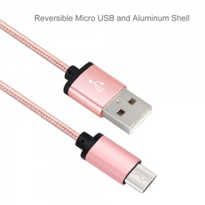 Delippo USB Type C Cable 0.8ft/0.25m Braided Charging Cord Metal with Reversible Connector for New Macbook 12 inch, ChromeBook Pixel, Nokia N1 Tablet, Nexus 5X, Nexus 6P, OnePlus 2 Pink ...
