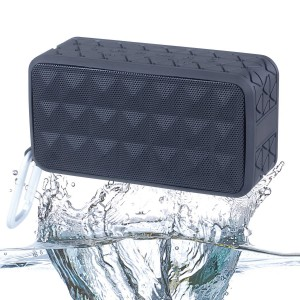 King Star Outdoor Sports Bluetooth Speakers, KINGSTAR Portable Square Waterproof Wireless Ultra Stereo 4.0 R