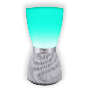 Wireless Bluetooth Speaker, Svance Portable Bluetooth Speakers with LED Mood Lamp Touch Sensor Night Light, Hands-free Speakerphone, Music Player for Smartphone, Bedside, Home Party, Perfect as Gift