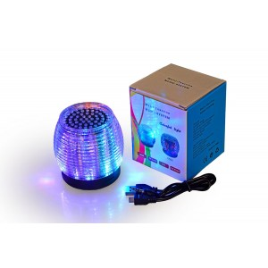 Water Asleep CASEFORMERS WATER ASLEEPUltra Portable Wireless Bluetooth Speaker with LED LightsandFM radio Built-in Mic for