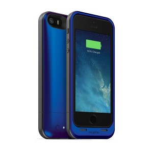 mophie juice pack Air for iPhone 5/5s/5se (1,700mAh) - Blue