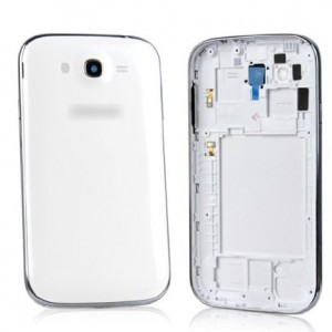 HYTID Genuine New Full Housing Back Cover Case Battery Door for Samsung Galaxy Grand Duos i9082 (White)
