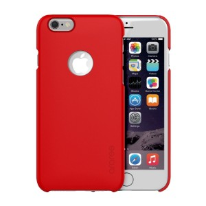iPhone 6/6S Plus Case, araree [Viewty] Ultra Slim Fit Protective Hard Case with Credit Card Holder Trendy Color for iPhone 6 Plus, iPhone 6S Plus Case (2015) (RED)