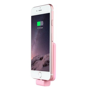 Oisle iPhone SE / 6 / 6S / 6 Plus / 5S Battery Case, Ultra Slim Extended Rechargeable Power Bank Battery