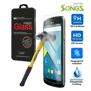 songscase SKY 5.5W Smartphone 2.5D 9h Tempered Glass Arc Edge Design Case (Tempered Glass)