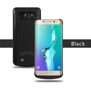 4200mAh Battery Case for Samsung S6 Edge Plus, Portable Slim Extended Battery Charger Case 120% Extra Battery Backup Case , External Power Case for Galaxy S6 Edge Plus ONLY (Black)