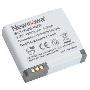 Newmowa AZ13-2 Rechargeable Battery for Xiaomi Yi Action Camera (Only Compatible with Official U.S. Edition)