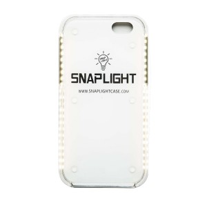 SnapLight iPhone 6/6S Light Up Selfie Case with Power Bank - LED Light and Strobe light Features, Perfect for Facetime or Night Life Selfies (Gold)