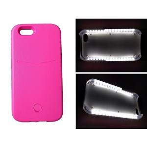 goldfield #1 Rated Bright LED Illuminated Phone Case for Iphone, Protect phone, Variable Dimmer, Internal Re