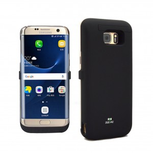 ZgearZ   Samsung Galaxy S7 Edge Battery Case with 6800 mAH Battery Pack by Phone Charger Case. Use it as Ba