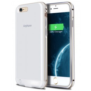 iPhone 6S Plus Battery Case, HianDier Ultra Slim 3200mAh Rechargeable Battery Case iPhone 6 Plus / 6S Plus Power Bank Cover Portable Charger Case for iPhone 6 Plus / 6S Plus 5.5''-Gold