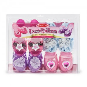 Melissa & Doug Dress-Up Shoes - Role Play Collection