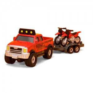 Tonka Diecast Fire Dept Truck with Red ATV