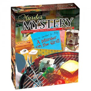 Murder Mystery Party Game - Murder on the Grill
