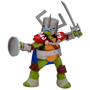 Teenage Mutant Ninja Turtles Basic Figure - Leonardo Knight Live Action Role Play Figure