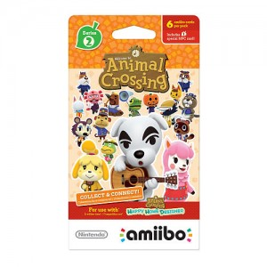 Animal Crossing 6 Pack amiibo Cards - Series 2