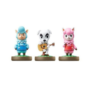 Animal Crossing 3 Pack amiibo Figures: K.K., Reese, Cyrus