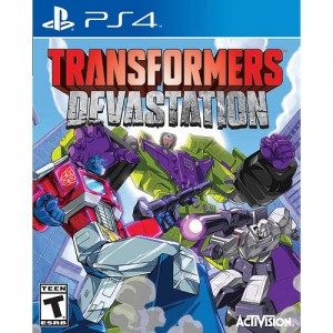 Transformers Devastation For Sony PS4