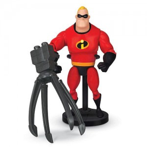 Disney Pixar Deluxe Action Figure - Mr. Incredible