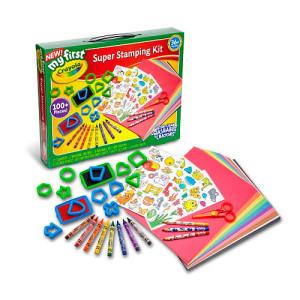My First Crayola Super Stamping Set