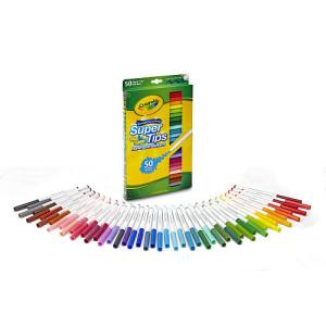 Crayola Super-Tips Washable Markers Set - 50 Piece