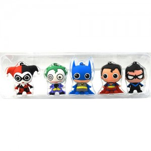 DC Collectible 3D Foam Key Rings