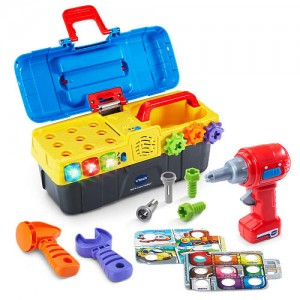 VTech Drill and Learn Toolbox Playset