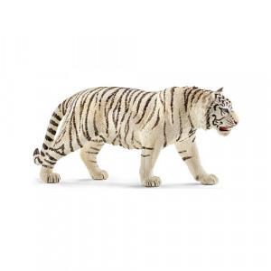 Schleich World of Nature: Wild Life Collection - Schleich Tiger - White Figurine