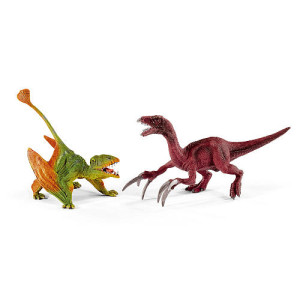 Schleich Small Dimorphodon and Therizinosaurus Figurine