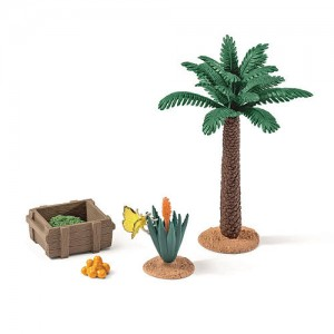 Schleich Plants and Feed Set