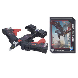 Transformers Generations Titans Return Legends Class 3.75 inch Action Figure with Vehicle - Laserbeak