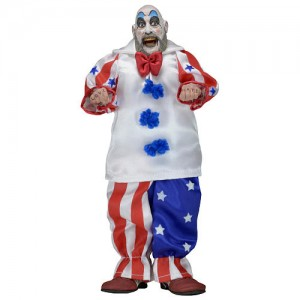 NECA House of 1000 Corpses 8 inch Clothed Action Figure - Captain Spaulding