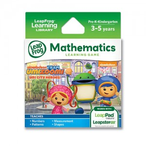 LeapFrog Learning Game: Team Umizoomi (for LeapPad Tablets and LeapsterGS)