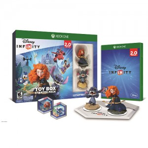 Disney Infinity (2.0 Edition) Toy Box Starter Pack featuring Disney Originals for Xbox One