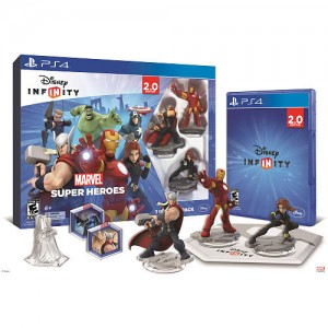 Disney Infinity: Marvel Super Heroes (2.0 Edition) Starter Pack for Sony PS4