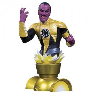 Heroes of the DC Universe Sinestro Bust